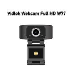 Vidlok W77 Full HD 1080P Webcam - Plug&Playg