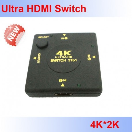 HDMI switch 4K en 1080p 3-1
