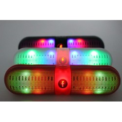 Bluetooth pill speaker met LED Pulse verlichting