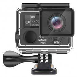 EKEN H5s Plus 4K Action Cam | Afstandsbediening | EIS | Touch Screen | 30m Waterproof | 4k@30FPS